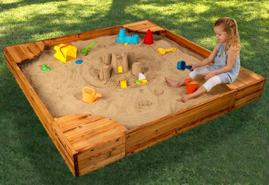 Fun Backyard Toys : Fun Funky Baby Kids Sandboxes The Way to Outdoor Fun
