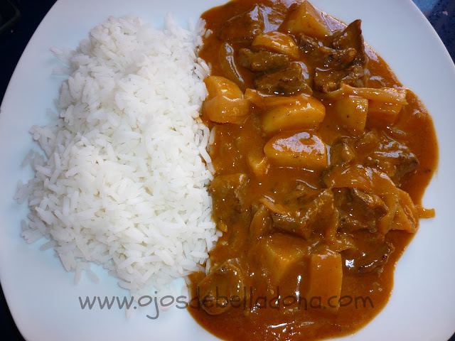Curry Matsaman de ternera