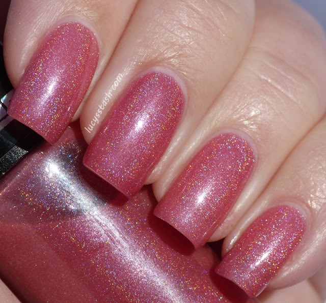 Hits No Olimpo Afrodite - pink holographic polish