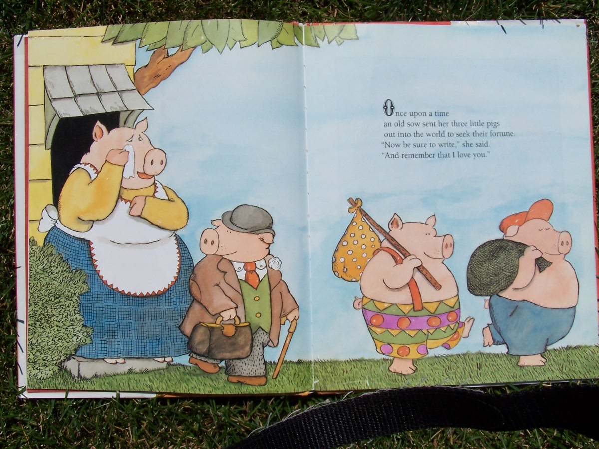 classic stories fun with the three little pigs   creative