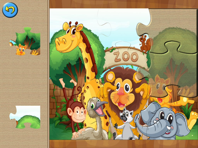 Wild Animals Puzzles de Tiltan Games