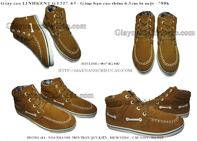 Giày nam trẻ trung GT227. 65