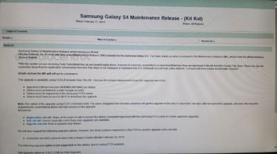 Samsung Galaxy S4 Update KitKat di 19 Februari 2014?