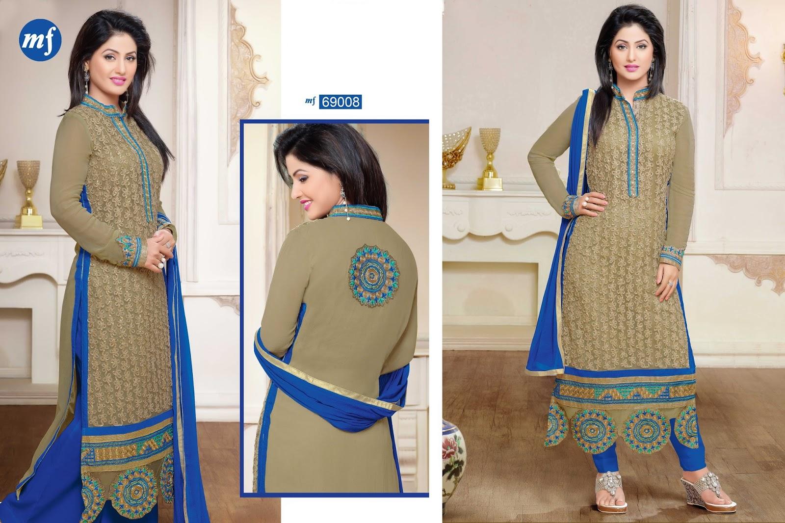 Heena khan suits online shopping