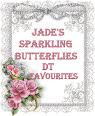 Jade's Sparkling Butterflies Challenge
