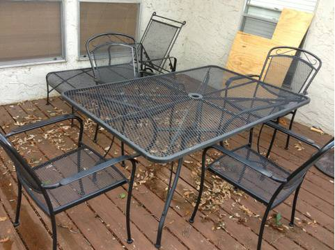 Thou shall craigslist monday may 27 2013 for Outdoor furniture austin
