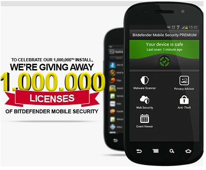 Bitdefender Mobile security Premium free 1 Year License2