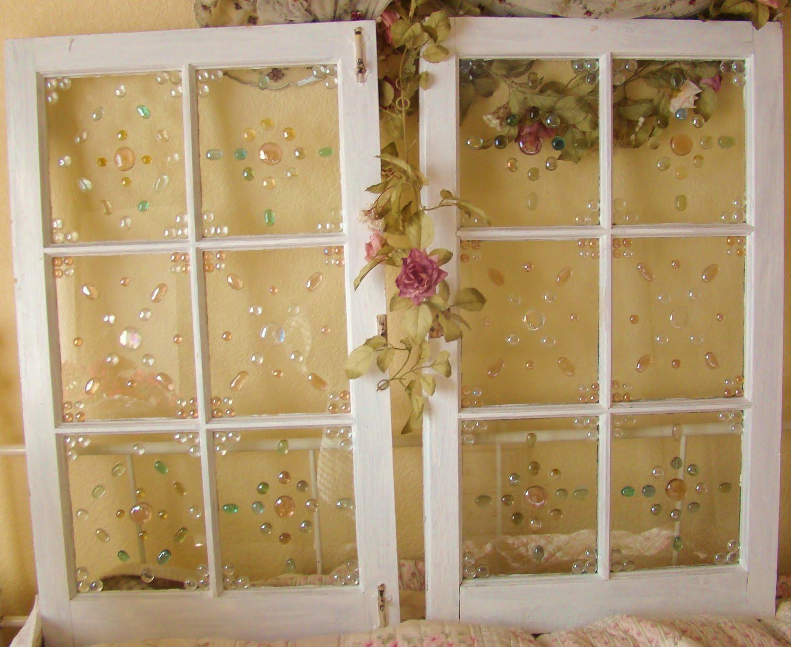 I heart shabby chic window dressing i heart shabby chic for Window dressing