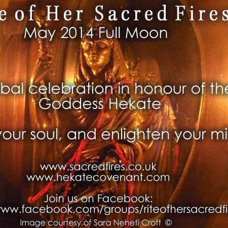 Rite of Her Sacred Fires (RoHSF) - Honoring the Goddess
