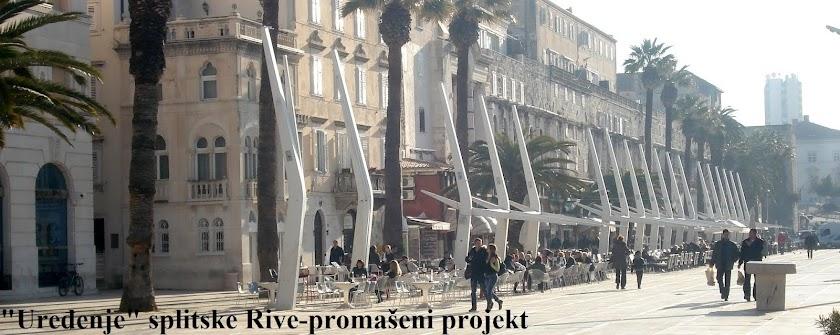 """""""Uređenje"""" splitske Rive - promašeni projekt"""