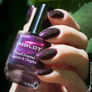 Inglot #854 + Vivenne Sabo Noctuelle