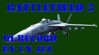 Battlefield 3 Mi Récord de tiempo en un Jet