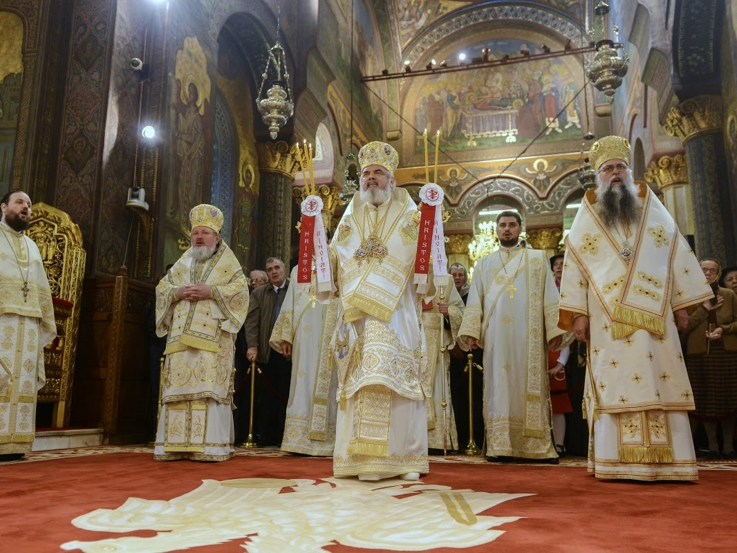 DANIEL Patriarhul Bisericii Ortodoxe Române. Foto: www.basilica.ro