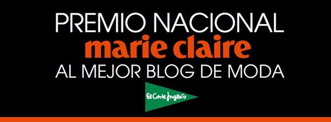 Finalistas del concurso Marie Claire al mejor blog de moda nacional!!! Muchisimas gracias a todos