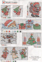 100 gráficos para bordados de natal parte 2