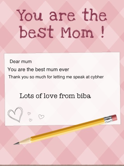 You are the best mum