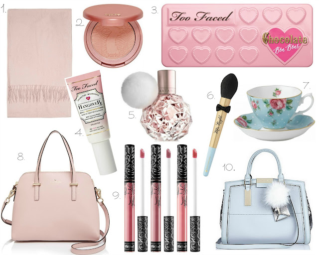 Lust List | Wishlist 2015 | Too Faced, Kate Spade, Kat Von D, Tarte, Topshop