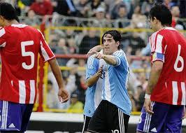 argentina gano 4 a 2 a paraguay partido amistoso