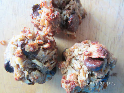 Chewy Gooey Peanut Butter Oatmeal Cookies by Raia's Recipes