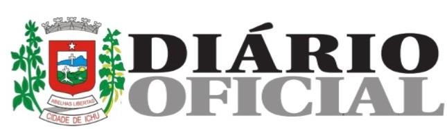 Diário Oficial do município de Ichu.