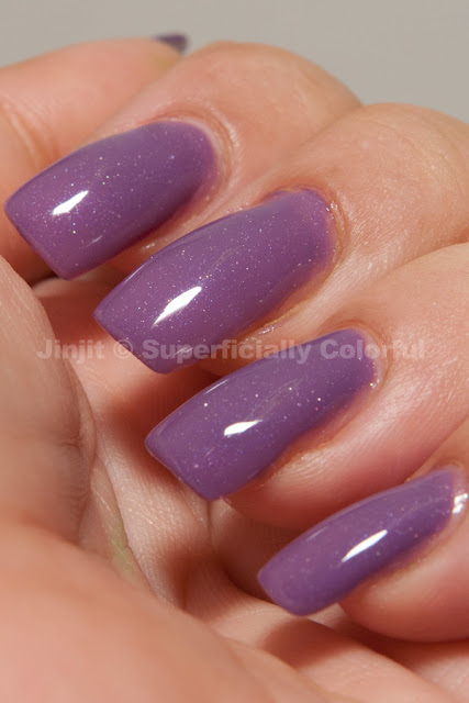 Shimmer Jelly Grape The Nail Junkie