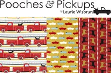Pooches & Pickups For Robert Kaufman Fabrics | Released April 2011