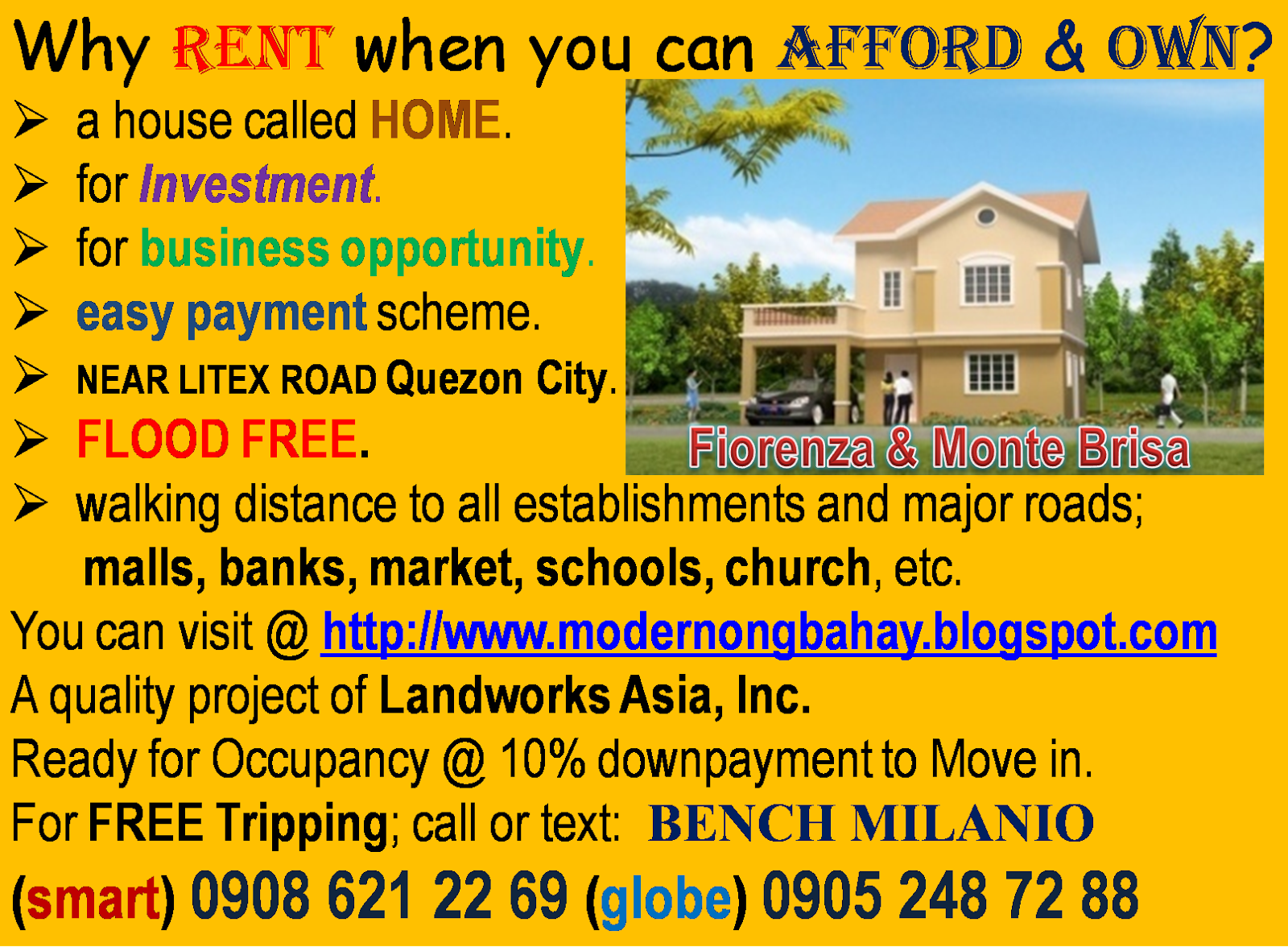 WHY RENT IF YOU CAN AFFORD TO OWN!