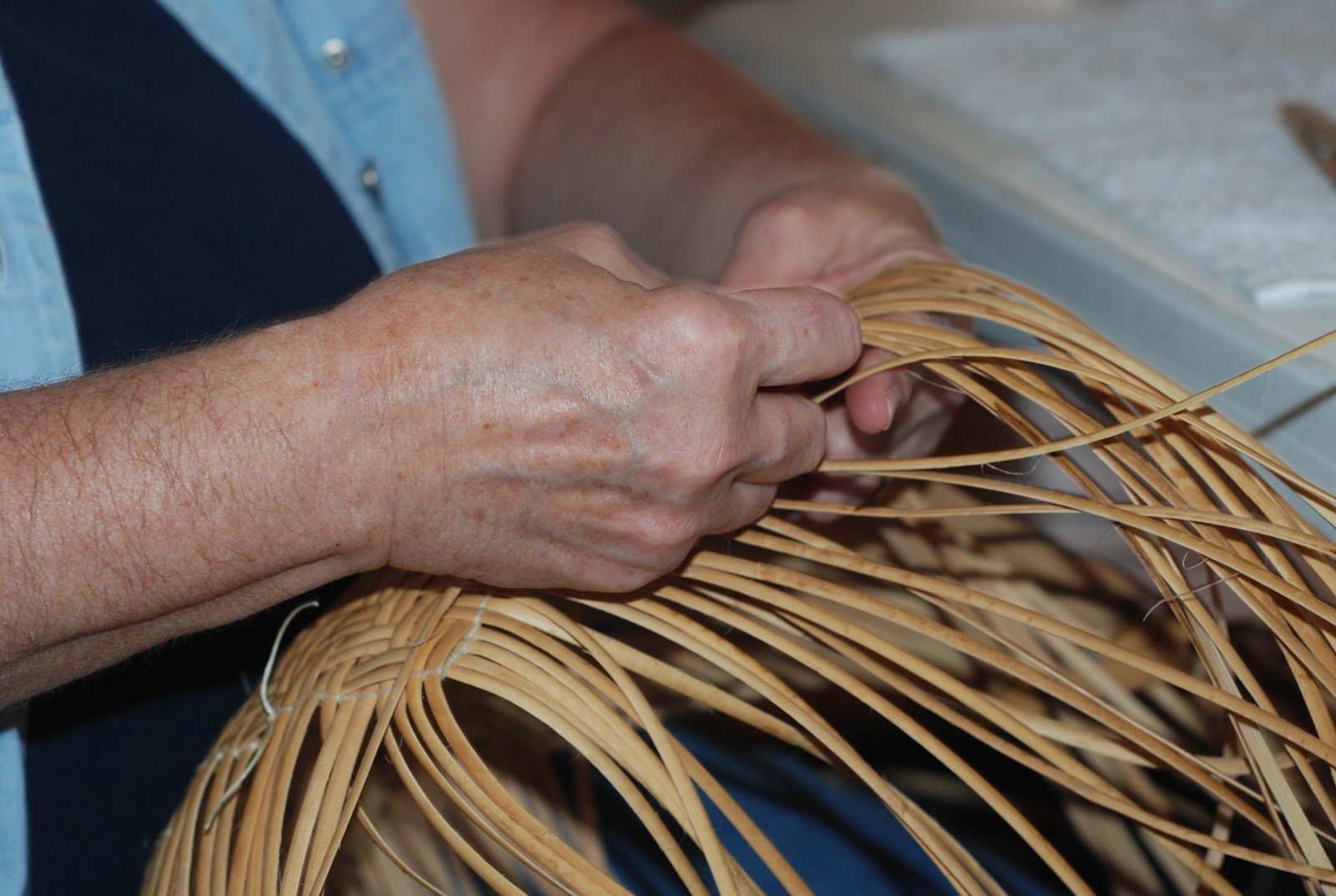 Basket Weaving Name : Prairie places basket weaving class at the creek council