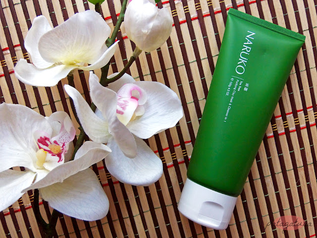 tea tree purifying clay mask cleanser naruko