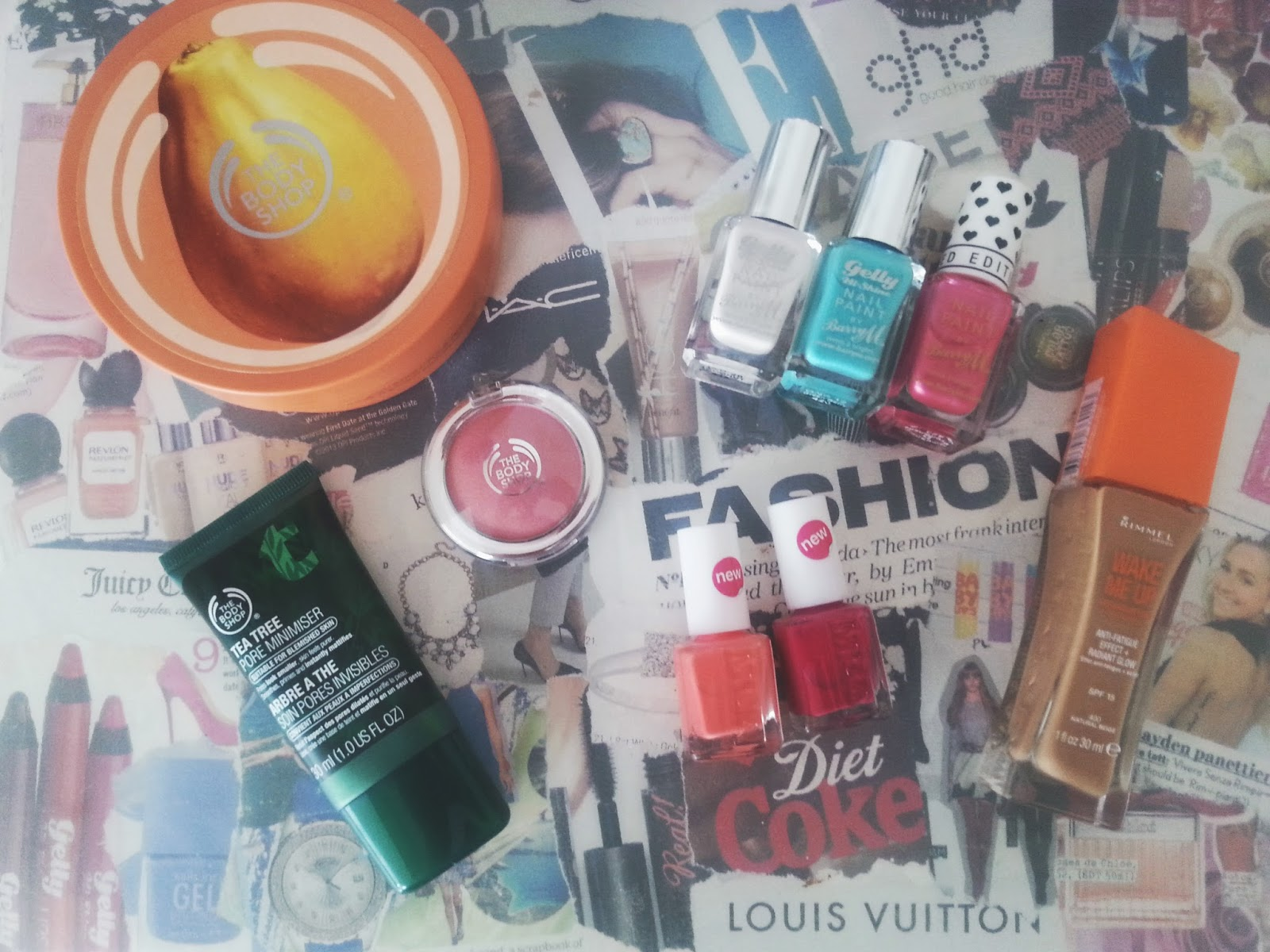 The Body Shop/Superdrug Haul!