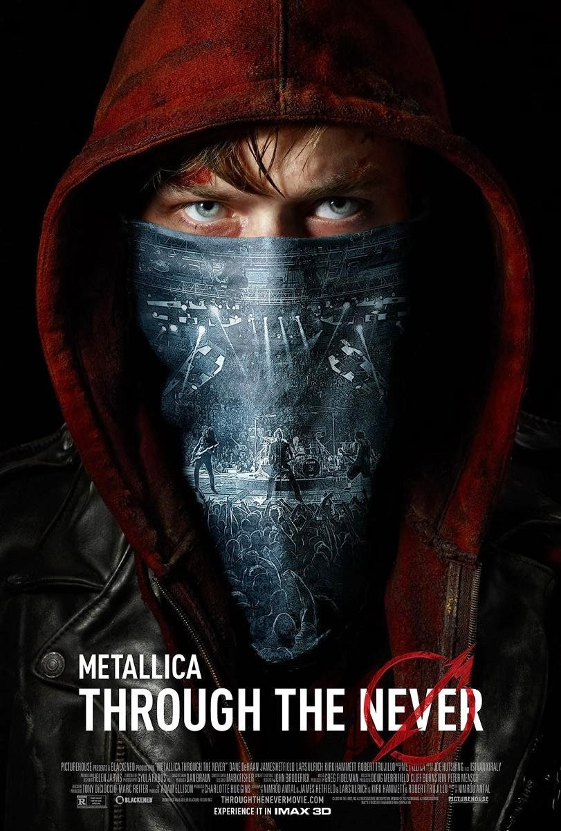 Metallica, Through The Never, Film, Película