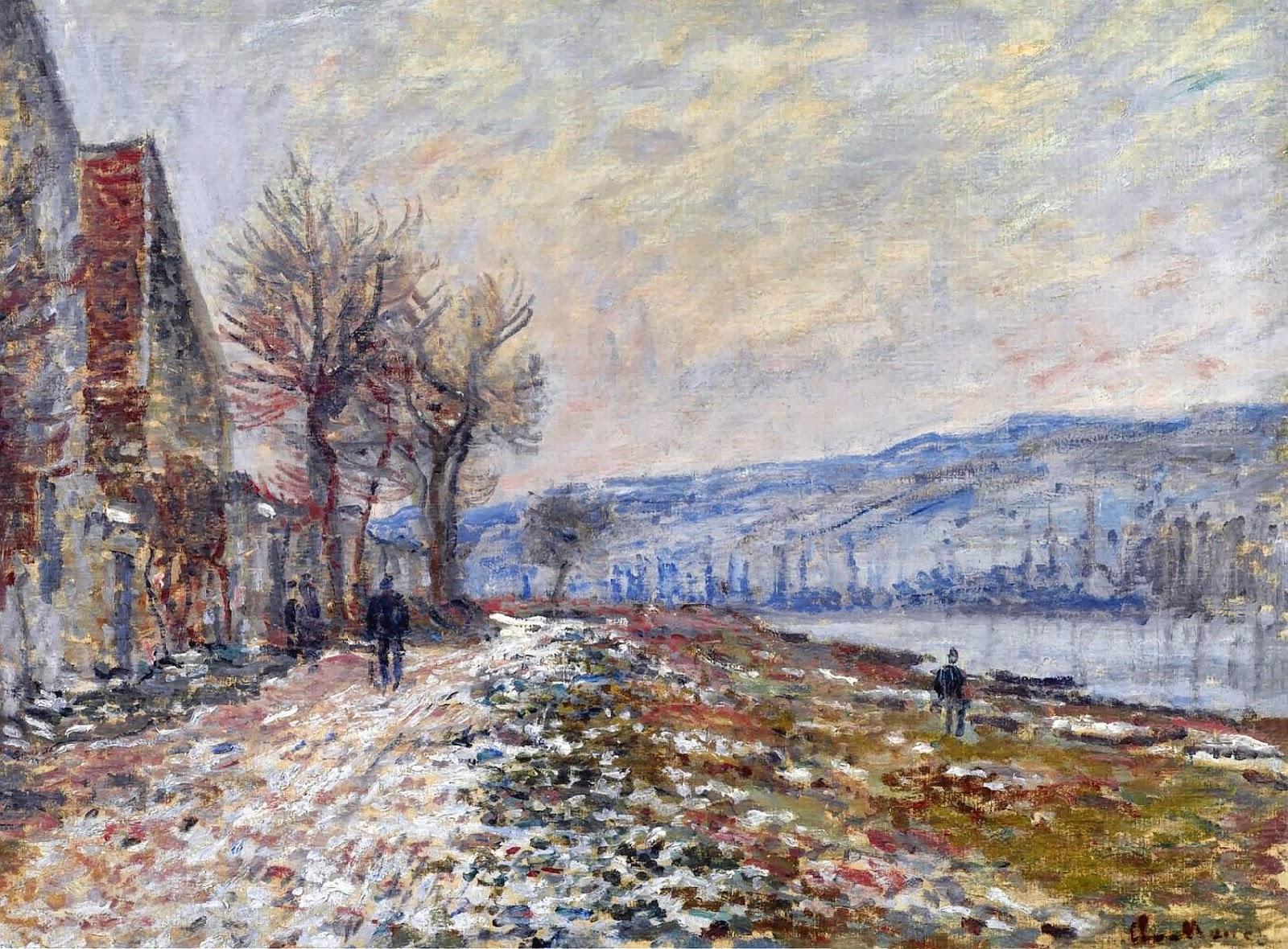 Art artists claude monet part 10 1879 1880 for Claude monet impressionist paintings