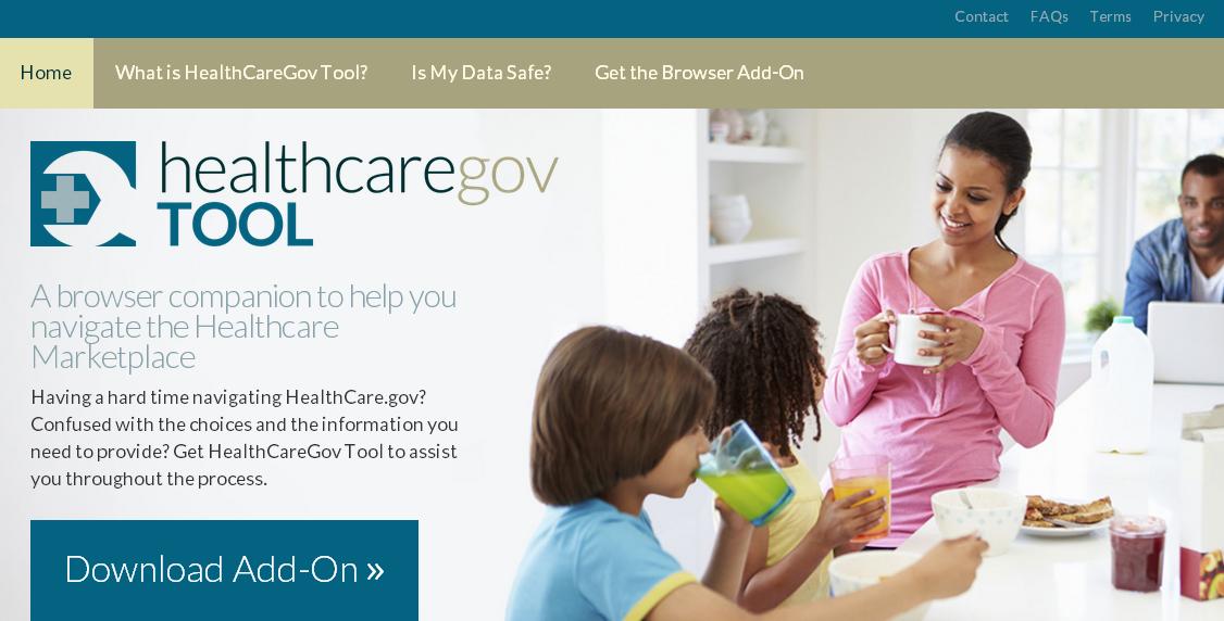 Healthcare Gov Tool