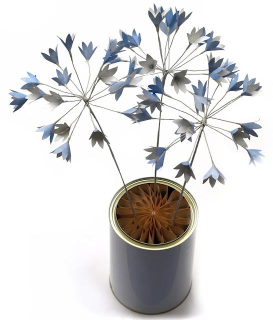 Paper Agapanthus Flowers