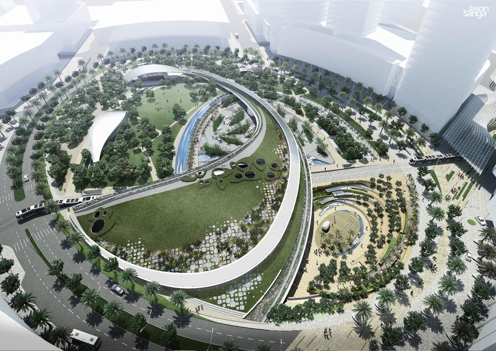 3d art rendering landscape architecture for Landscape architecture
