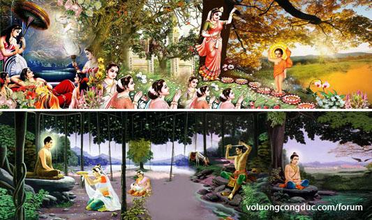 Xe hoa Phật đản - voluongcongduc.com