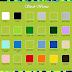 pilihan warna kaos & size chart