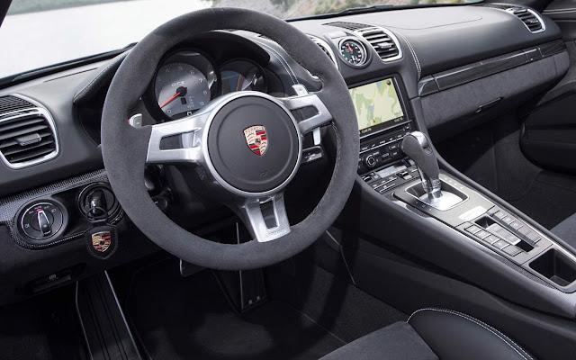 Porsche Boxster GTS 2016 - interior