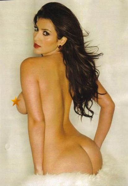 Kim Kardashian's Butt, Kim Kardashian's Ass and totally naked