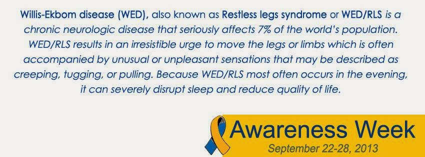 What is RLS/WED??