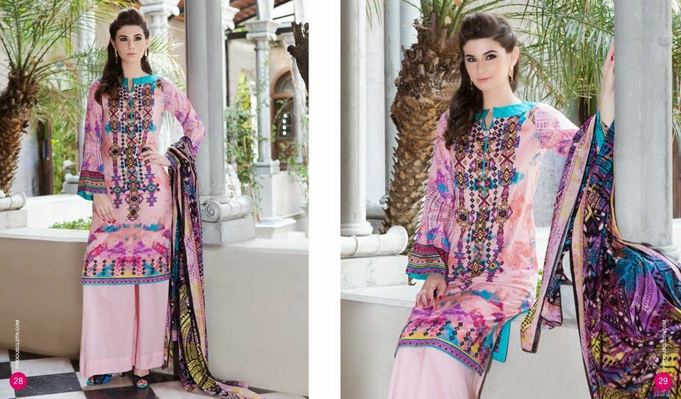 Firdous summer dresses collection