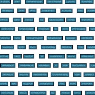 Muster in Blau und Weiß 3