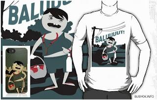 balut vendor, pinoy, redbubble, online store, busyok creative