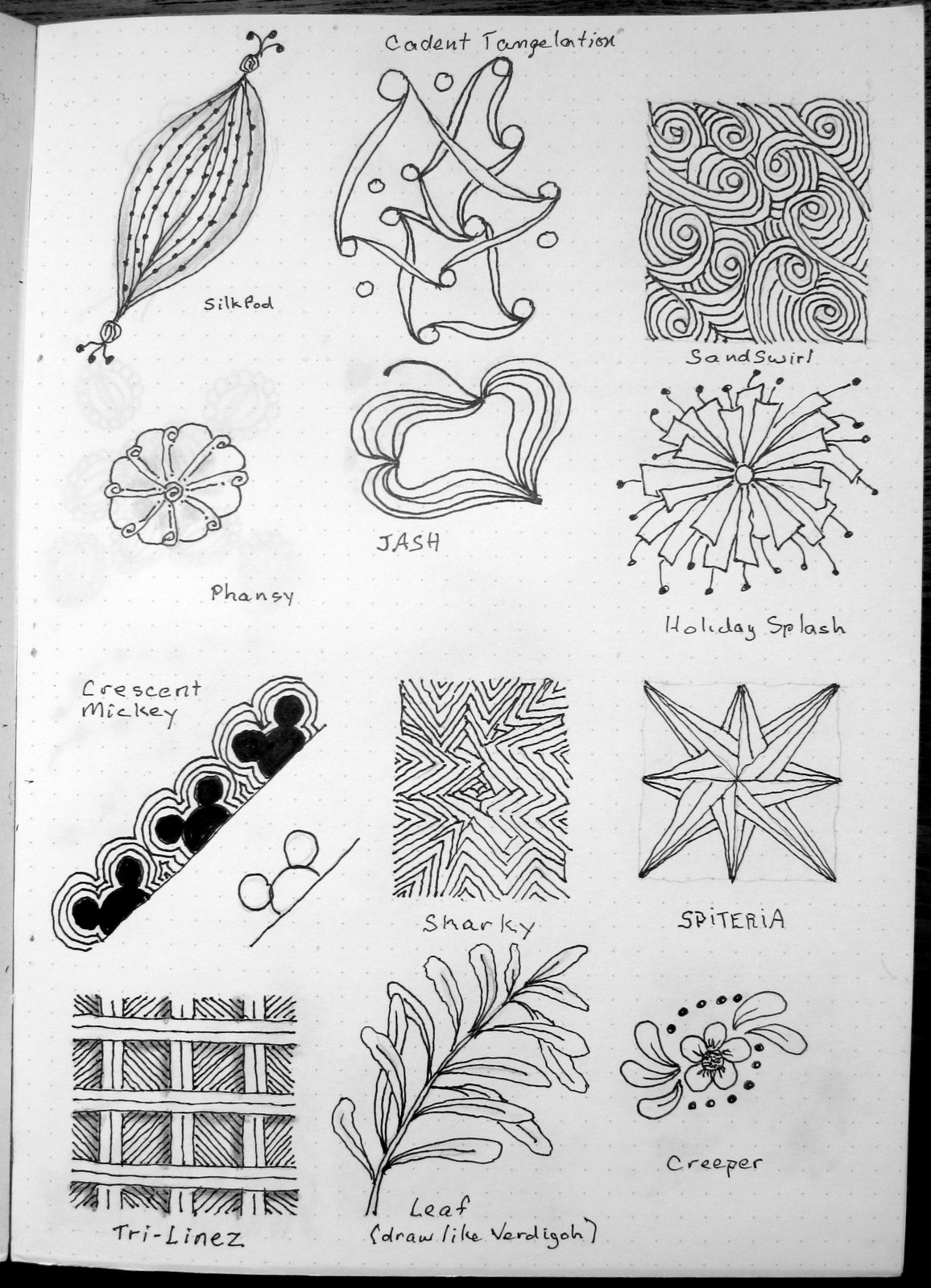 Tangle Patterns Magnificent Design Ideas