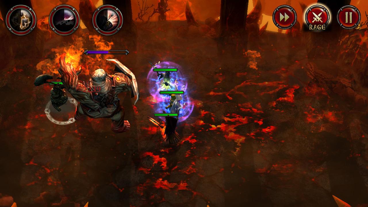 битвы и геймплей в The Gate