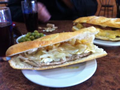 Almuerzos populares: Bocadillo bar Lozano Alboraya