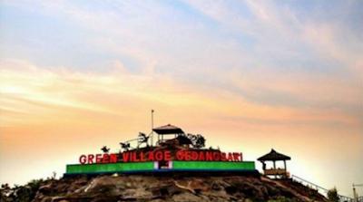 Rute Menuju Keindahan Green Village Gedangsari Gunungkidul