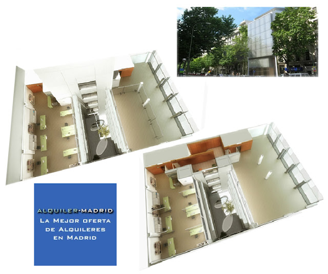 Alquiler madrid alquilar inmuebles en madrid edificio for Alquiler oficinas madrid capital