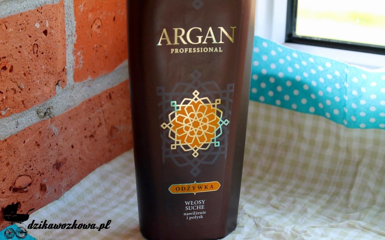 Odżywka argan włosy suche nawilżenie i połysk