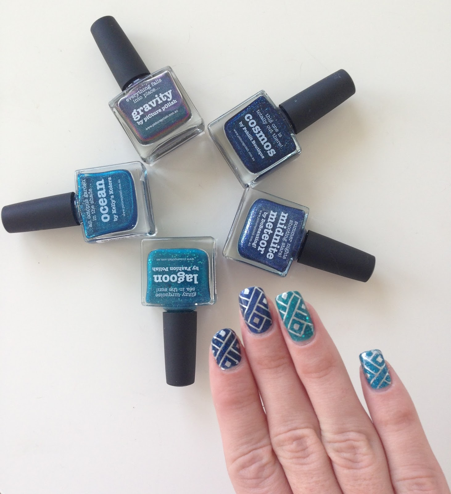 stamping ombre nails picture polish